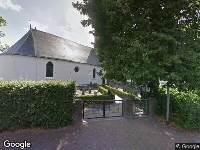Bekendmaking Ingekomen kapmelding Huizumer begraafplaats, (11032703) 1 Malus.