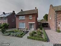 Ontvangst milieumelding, Nieuwstraat 23 en 25 in Eersel, mobiel breken van bouw- en sloopafval