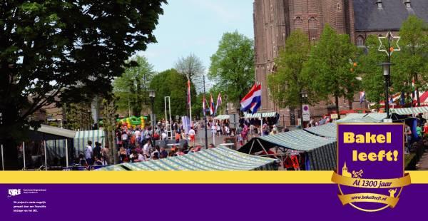 Markt in Bakel