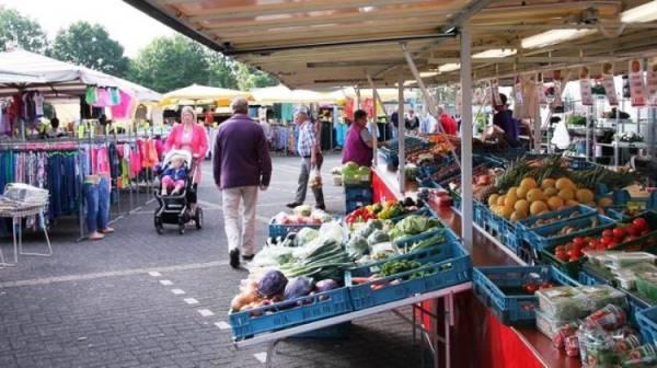 Wekelijkse markt binnenstad