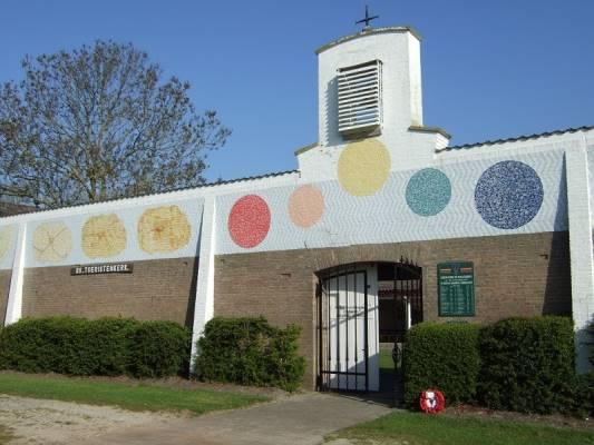 start seizoen openlucht toeristenkerk Dishoek