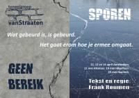 Evenement Theater Kleintje Kunst Hilversum; Tg VanStraaten speelt 'Geen Bereik / Sporen'