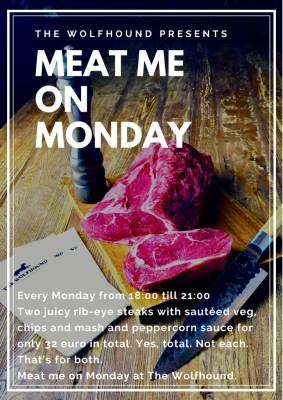 Meat me on monday