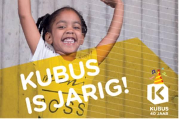 Kubus is jarig en viert feest!