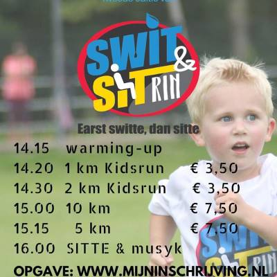 Tweede editie Swit&Sit Rin