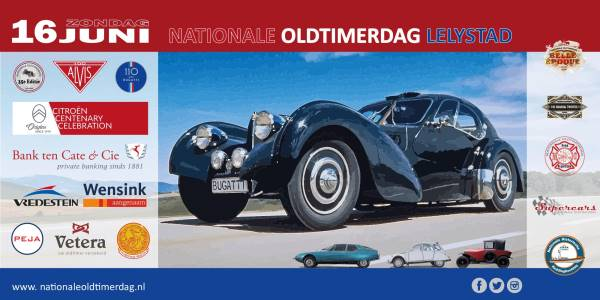 De Nationale Oldtimerdag Lelystad (35e editie)