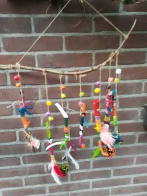 Kinderworkshop mobiel maken Hortus Alkmaar