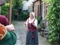 Wandeling met  Hendrickje Stoffels door Bredevoort.