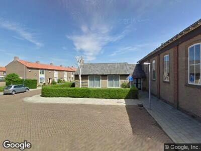 Containerverkoop in tuin Gereformeerde Kerk Stellendam