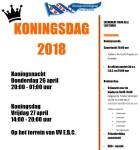 Koningsnacht/dag Oosterzee