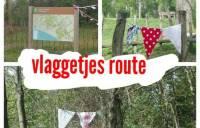 Koningsdag: Vlaggetjesroute bij buitencentrum Almeerderhout