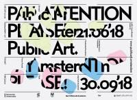 Evenement Public Art Amsterdam: Pay Attention Please!