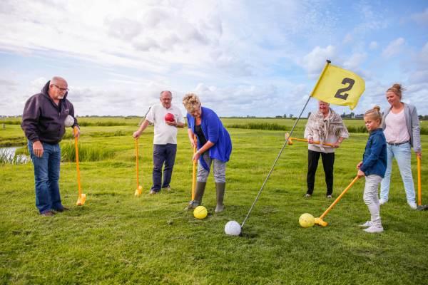 Klompen(golf) & Kaas arrangement