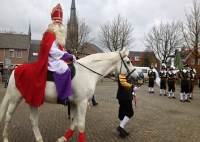 Intocht St. Nicolaas Liessel 2017