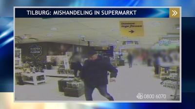 Mishandeling in supermarkt