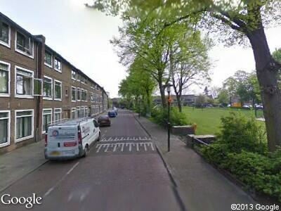 Brandweer vanwege gebouwbrand naar Laan van Engelswier in Utrecht