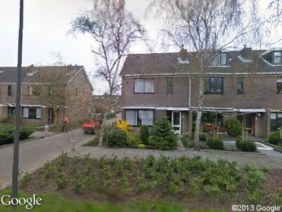 Ambulance naar Gounodstraat in Alkmaar