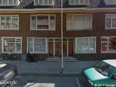 Ambulance naar Den Hertigstraat in Rotterdam