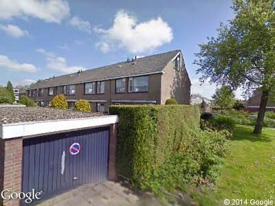 Ambulance naar Jan Steenlaan in Papendrecht