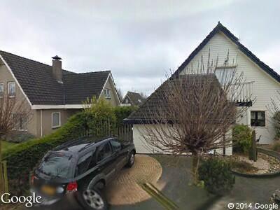 Ambulance naar Zuiderhout in Blokker