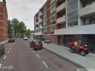 Ambulance naar Jan Mankesstraat in Amsterdam
