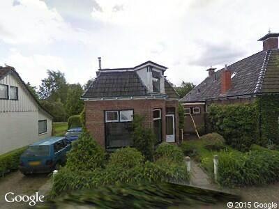 Brandweer naar Zomerweg in Tytsjerk
