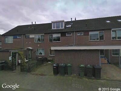 Ambulance naar Udenstraat in Arnhem
