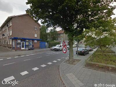 Brandweer en politie naar Tapuitstraat in Rotterdam