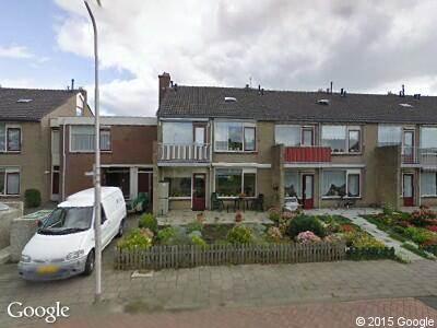 Ambulance naar Van Beethovenstraat in Numansdorp