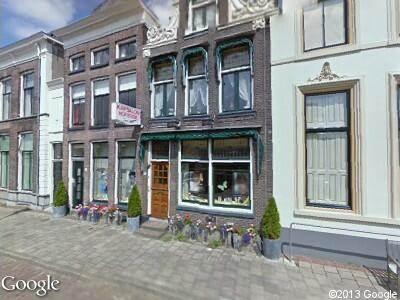Brandweer naar Thorbeckegracht in Zwolle