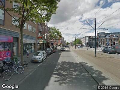 Ambulance naar 1e Middellandstraat in Rotterdam