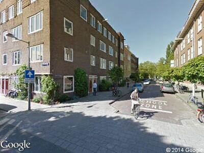 Ambulance naar Richard Holstraat in Amsterdam