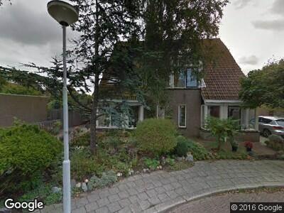 Brandweer naar Mina Krusemanpark in Heemskerk