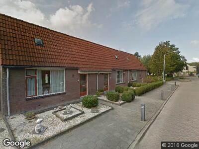 Brandweer naar Akelei in Dirksland