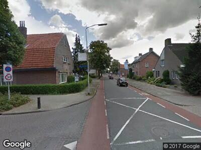 Ambulance naar Heuvelstraat in Deurne