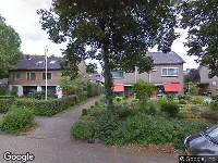 Brandweer naar Erasmuslaan in Zwolle
