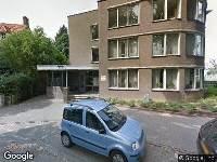 Brandweer naar Professor Pieter Willemsstraat in Maastricht