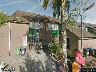 Ambulance naar De Spil in Zaandam