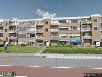 Politie naar Tesselschadestraat in Zwolle