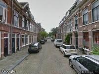 Ambulance naar Bilderdijkstraat in Haarlem
