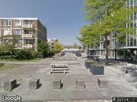 Brandweer naar Ledeboerstraat in Haarlem