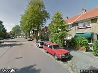 Ambulance naar Molijnstraat in Haarlem