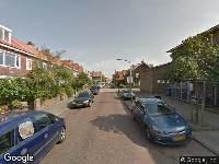 Ambulance naar Gijsbrecht van Aemstelstraat in Haarlem