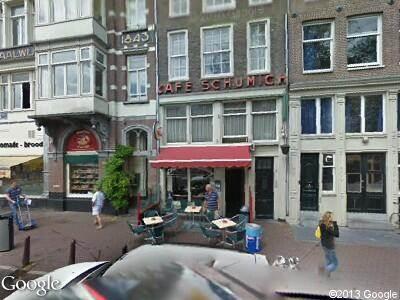Ambulance naar Singel in Amsterdam