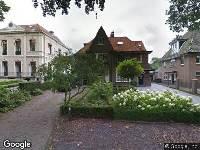 Politie naar Ruiterlaan in Zwolle