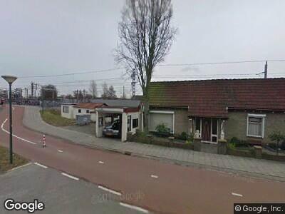 Ambulance naar Singel in Woerden