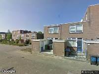 Ambulance naar Westerdiep in Dordrecht