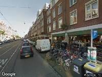 Ambulance naar Kinkerstraat in Amsterdam
