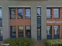Ambulance naar Raadhuisplein in Hoeven