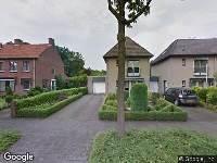 Brandweer naar Laan van Mertersem in Breda
